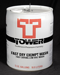 Fast Dry Exempt Wash